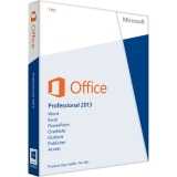 Microsoft Office Professional 2013 (Product Key) Retail Box