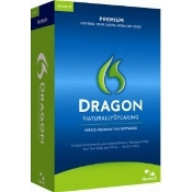 Nuance Dragon Naturally Speaking 11.5  Premium Full Retail Box
