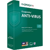Kaspersky Anti-Virus 2016  3 PCs  1 Year Retail Box