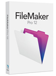 FileMaker Pro 12 Full Retail Box Win or Mac