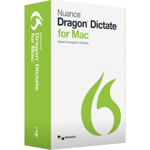 Nuance Dragon Dictate v.4.0 MAC Full Retail Box