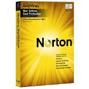 Norton AntiVirus Dual Protection for Mac Full Retail Box