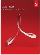 Adobe Acrobat Pro DC 2015 - Box pack - 1 user - DVD - Win