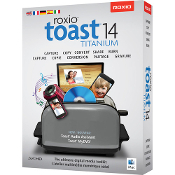 Roxio Toast 14 Titanium for Mac Full Retail Box