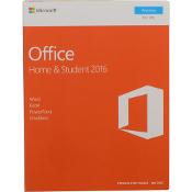 Microsoft Office 2016 Home & Student - 1 PC Full Retail Box