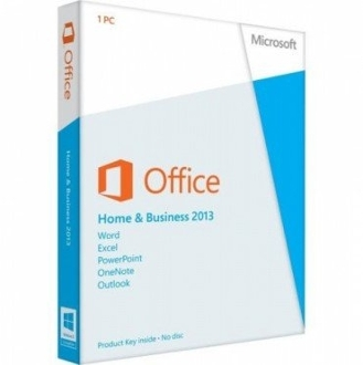 Office Home & Business 2013 Full Retail Box