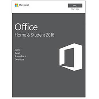 Microsoft Office for Mac Home and Student 2016 Full Retail Box