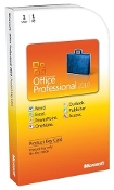 Office Professional 2010 Retail PKC 1 PC