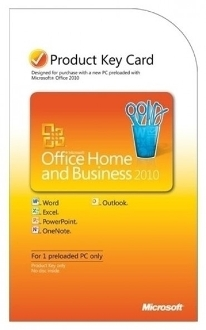Office Home And Business 2010 Retail PKC - 1 PC