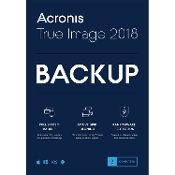 Acronis True Image 2018 - 3 Device Retail Mini Box