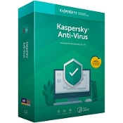 Kaspersky Anti-Virus 2019 - 3 PCs / 1 Year (Key Card)
