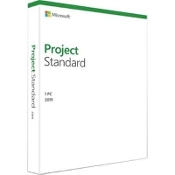 Microsoft Project Standard 2019 - box pack - 1 PC