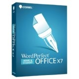 WordPerfect Office X7 Home and Student  Windows  3 PC Retail Box