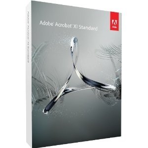 Adobe Acrobat XI Standard Full Retail Box