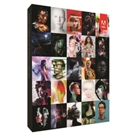 Adobe CS6 Master Collection for Windows Full Retail Box